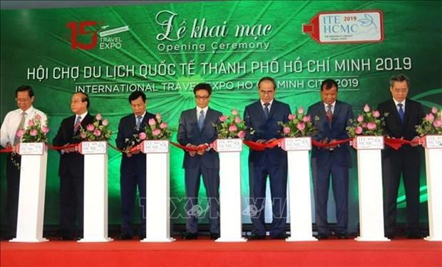 第15届胡志明市国际旅游博览会开幕 hinh anh 1