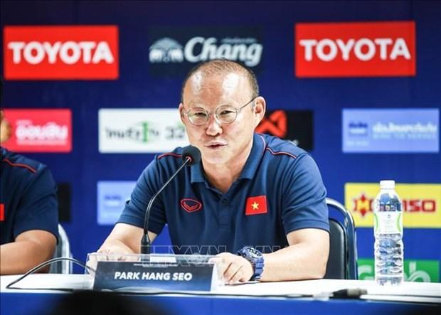 2022年世界杯亚洲区预选赛第二轮比赛:越泰棋逢对手将在踏马萨体育场一争高下 hinh anh 2