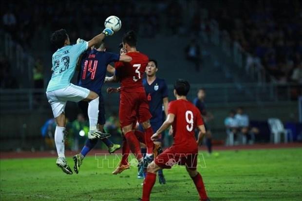 2022年世界杯亚洲区预选赛:泰国队主场 0-0 越南队 hinh anh 1