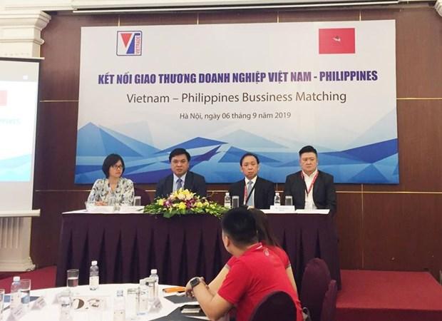 越南企业加强与菲律宾企业的贸易往来 hinh anh 1