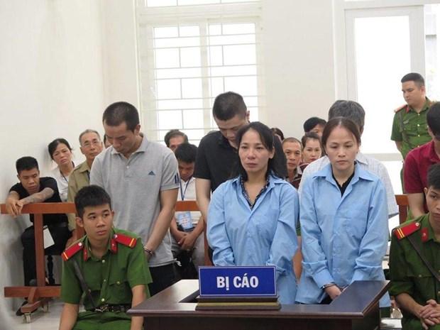 """涉嫌""""非法运输毒品""""案的嫌疑人被判死刑和无期徒刑 hinh anh 1"""