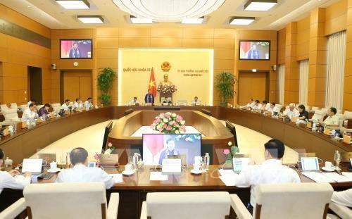越南第14届国会常务委员会第37次会议将于9月9日召开 hinh anh 1