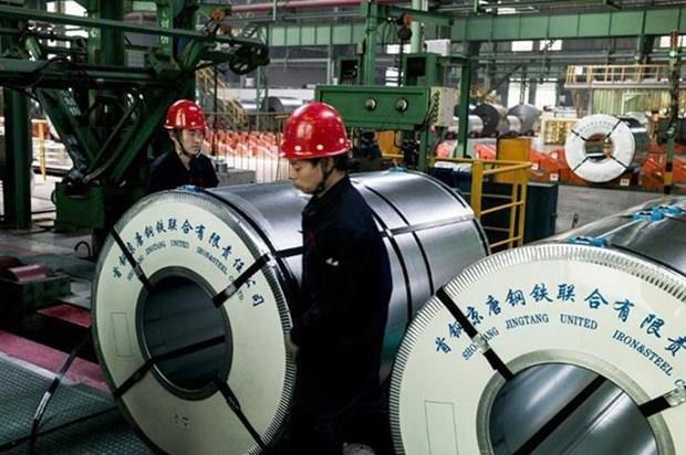 越南工贸部发起对中国冷轧钢产品的反倾销调查 hinh anh 1