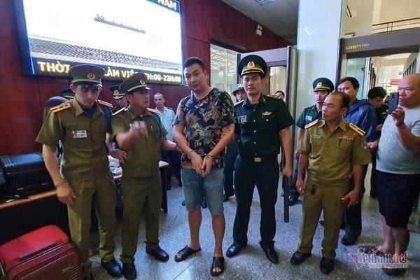 越南广治省边防部队逮捕一名中国通缉犯 hinh anh 1