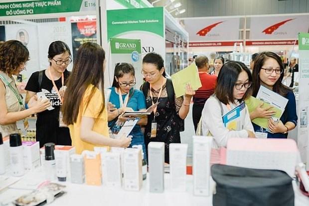 越南国际食品饮料、加工及包装技术展览会在河内举行 hinh anh 1