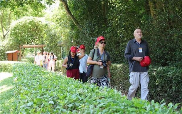 国际记者代表团对乂安省各旅游景点印象深刻 hinh anh 1