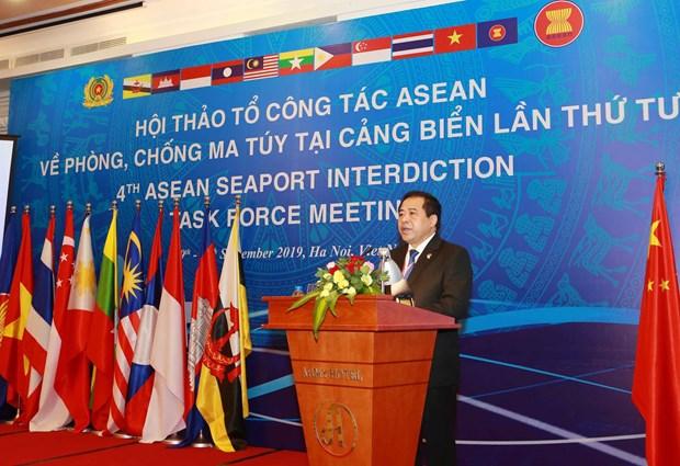 东盟各国携手打击东南亚海上毒品犯罪 hinh anh 2