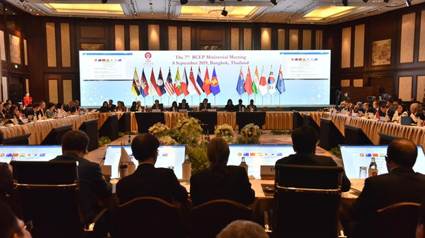 RCEP谈判进程将于今年年底结束 hinh anh 1