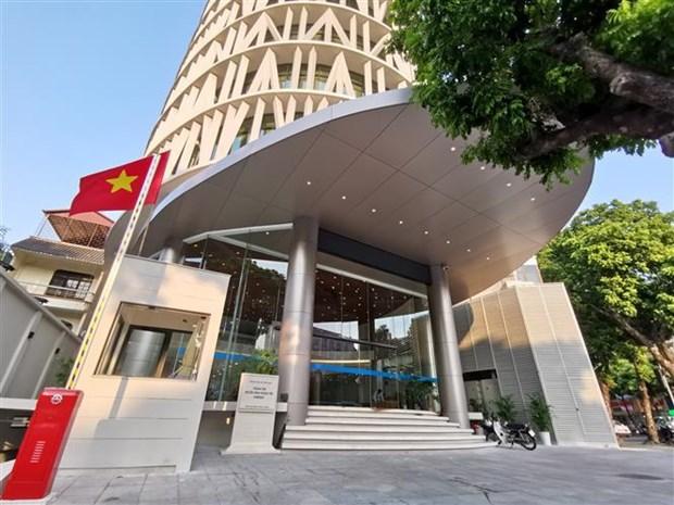 越通社电视中心大楼正式启用 hinh anh 1