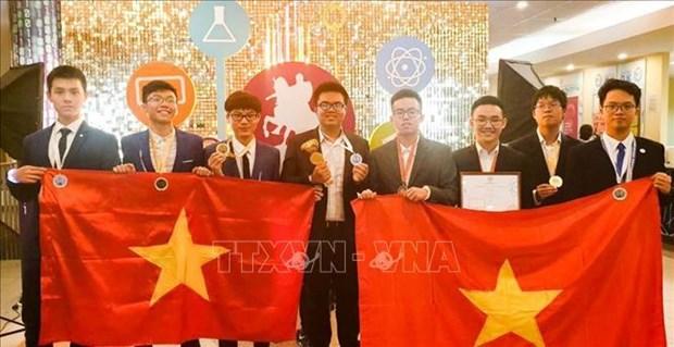越南首次参加莫斯科国际奥林匹克竞赛并取得令人瞩目的成绩 hinh anh 1