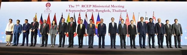 东盟与中国加强贸易伙伴关系 hinh anh 1