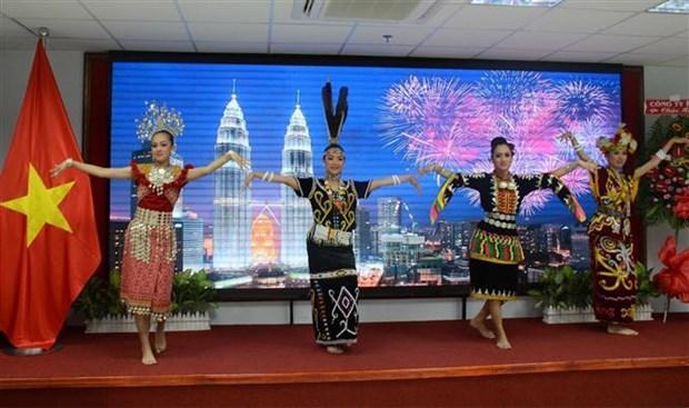 纪念马来西亚国庆62周年见面会在胡志明市举行 hinh anh 2