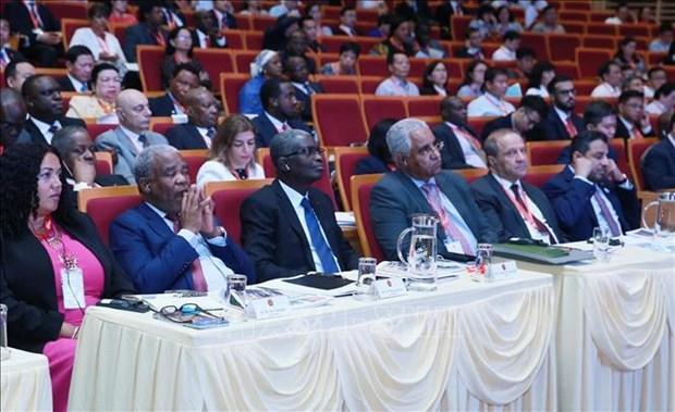 中东非洲国家驻越大使对与越南的经济合作前景充满信心 hinh anh 1
