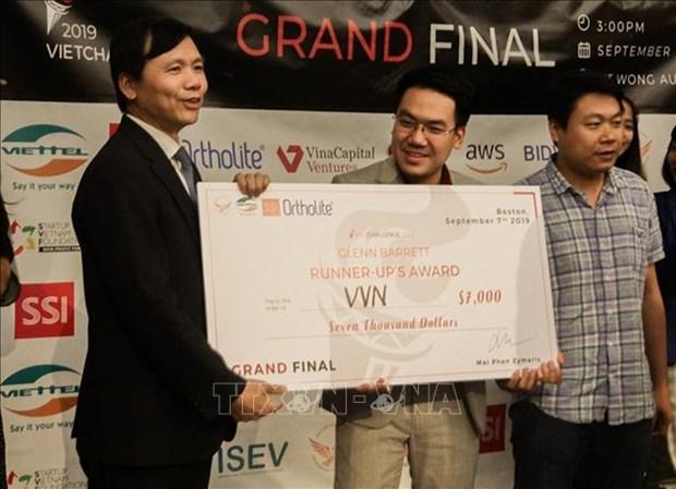 2019年全球越南人创业大赛结束:越南医学链获得一等奖 hinh anh 3