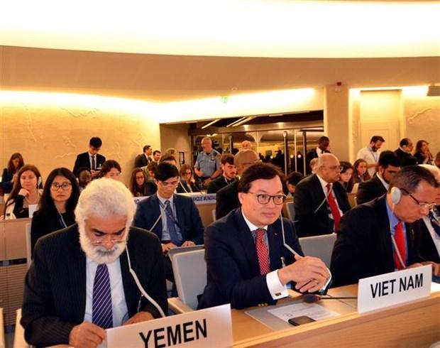 联合国人权理事会第42次会议聚焦讨论气候变化问题 hinh anh 1