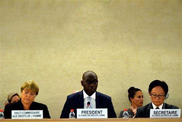 联合国人权理事会第42次会议聚焦讨论气候变化问题 hinh anh 2