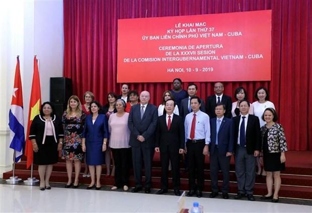 越古政府间联合委员会第37次会议在河内开幕 hinh anh 4