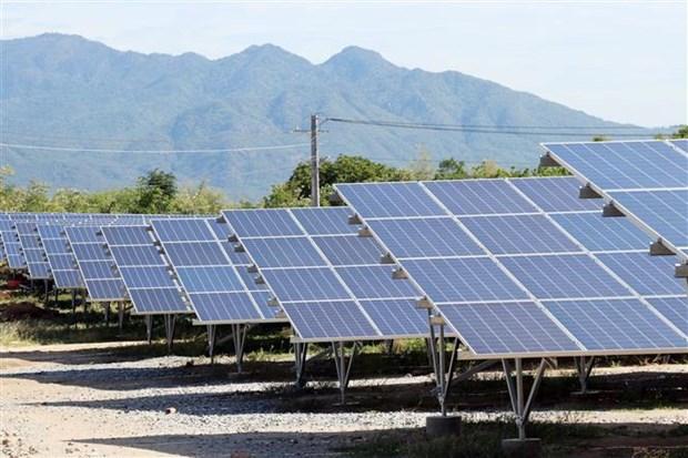二河太阳能发电厂在宁顺省落成 hinh anh 2