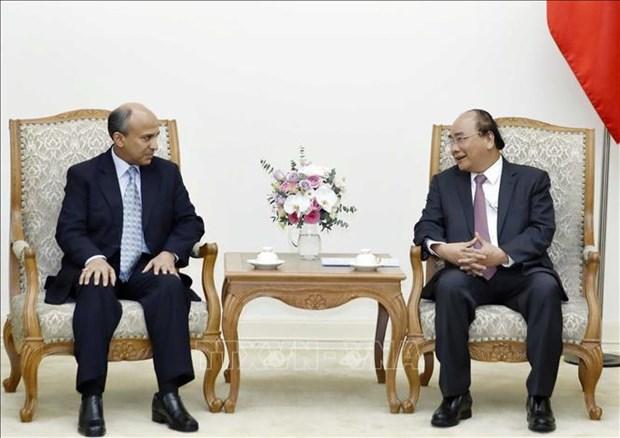越南政府总理阮春福会见沙特阿拉伯驻越大使苏维里母 hinh anh 1