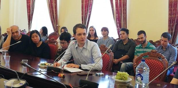 """""""越南语与俄语及俄文化的交流""""座谈会在俄罗斯举行 hinh anh 2"""
