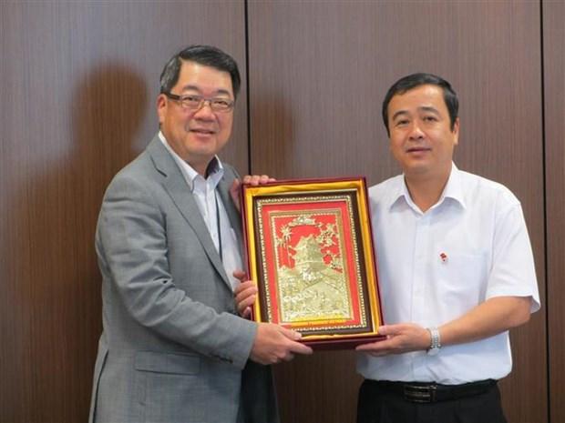 日本东丽公司希望扩大在越南的投资经营活动 hinh anh 1
