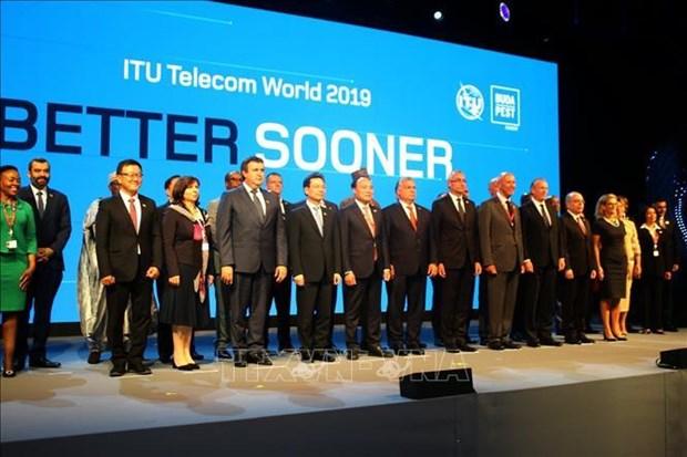 越南出席国际电信联盟2019年世界电信展 hinh anh 1