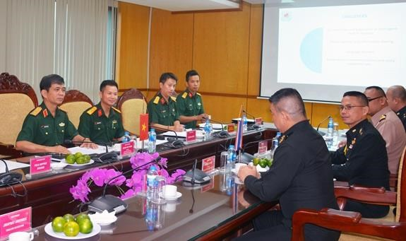 越南与英国和泰国在联合国维和行动中的合作 hinh anh 1