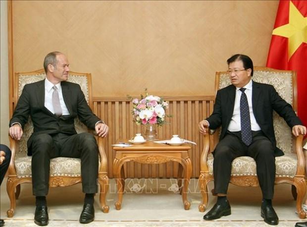 越南鼓励英国企业扩大投资范围 hinh anh 1