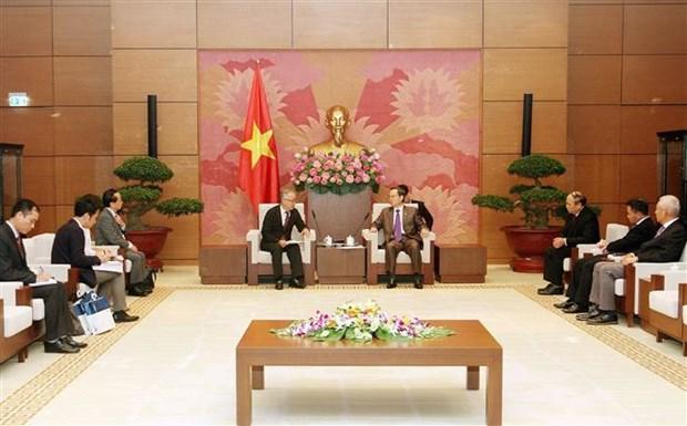 国会副主席冯国显会见JICA高级副总裁 hinh anh 1