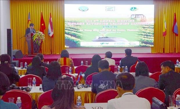 大湄公河次区域国家分享农业推广经验 hinh anh 1