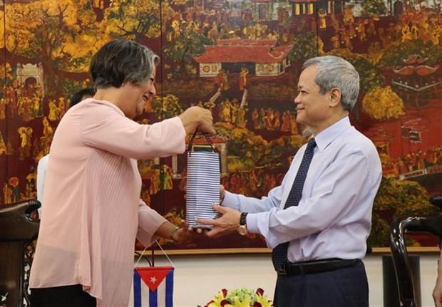 北宁省与古巴分享劳动与就业领域的经验 hinh anh 1