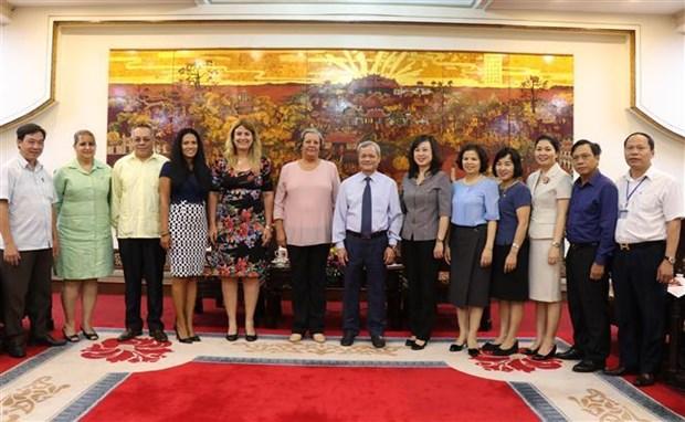 北宁省与古巴分享劳动与就业领域的经验 hinh anh 2