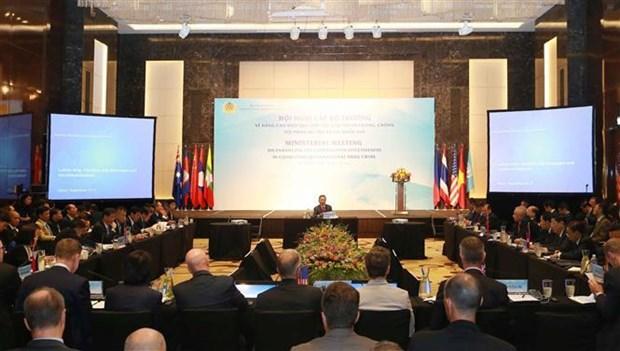 各国发表联合声明 联手打击跨国毒品犯罪 hinh anh 1