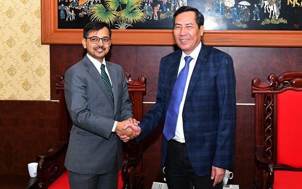 越南与印度新闻媒体机构加强合作 hinh anh 1
