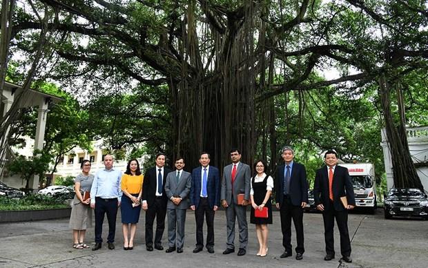 越南与印度新闻媒体机构加强合作 hinh anh 2