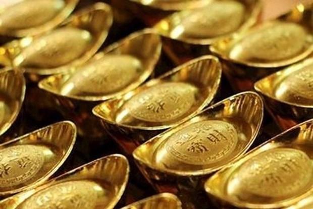 9月12日越南黄金价格略增 hinh anh 1
