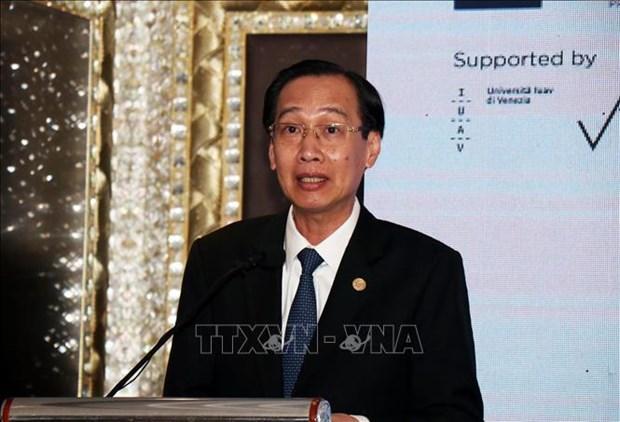 意大利与越南分享保护遗产与发展经济的经验 hinh anh 1