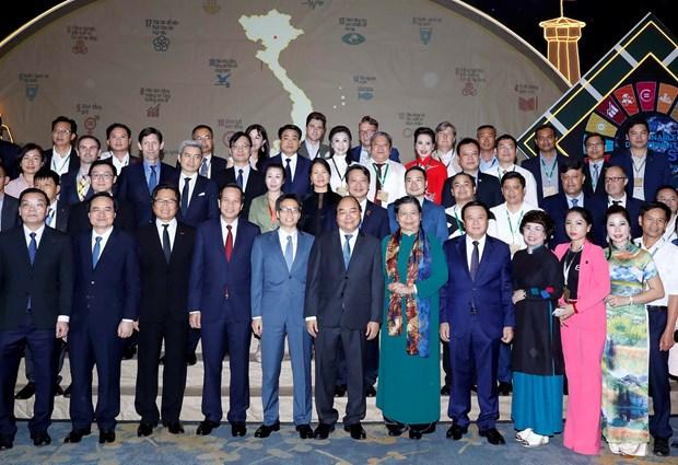 阮春福总理:以人为可持续发展的核心 hinh anh 1