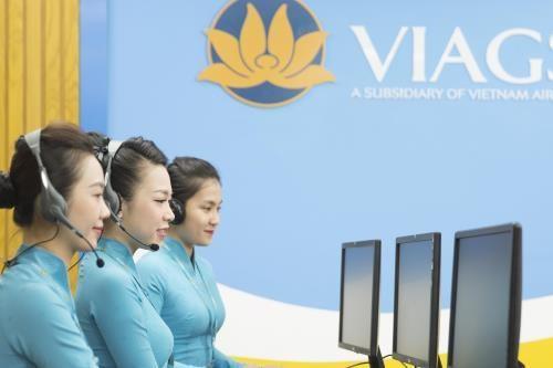 自9月15日起从河内起飞的航班乘客可通过手机办理登机手续 hinh anh 1