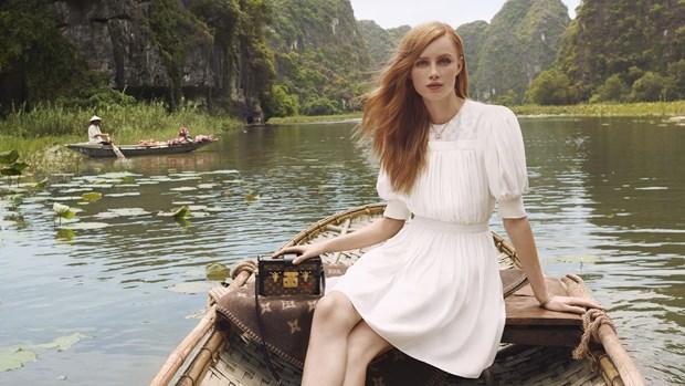 越南多个旅游景点成为路易•威登品牌宣传片中的取景地 hinh anh 1