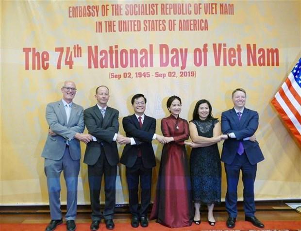 美国继续支持越南维护独立和东海上的主权 hinh anh 1