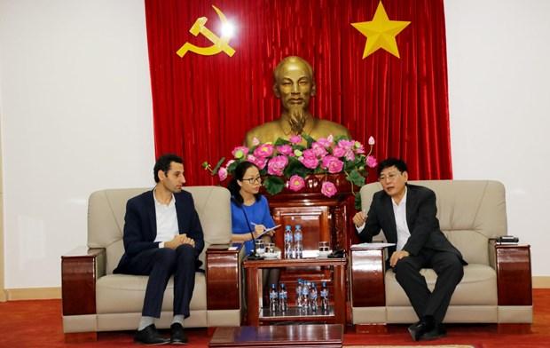 越南平阳省与世行多措并举确保各项目的施工进度 hinh anh 1