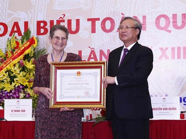 第十三届越南律师协会全国代表大会在河内举行 hinh anh 2