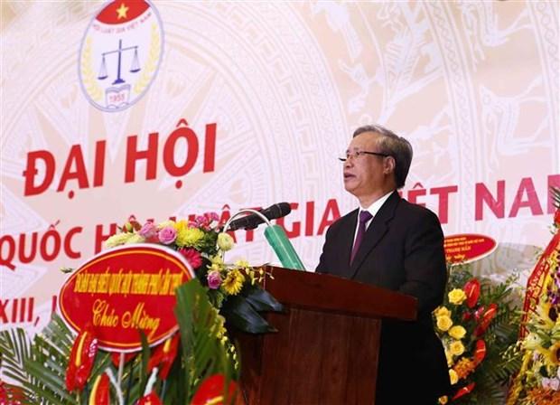 第十三届越南律师协会全国代表大会在河内举行 hinh anh 1
