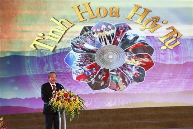 2019年宣城文化节暨国家级非物质文化遗产联欢会在宣光市隆重开幕 hinh anh 3
