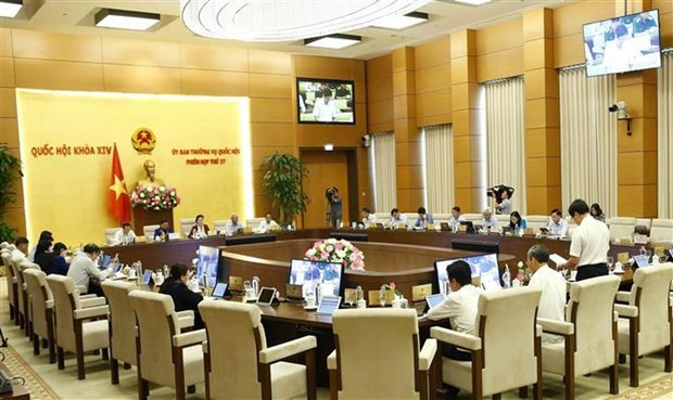 越南第十四届国会常委会第37次会议:致力提升反腐败反犯罪工作质效 hinh anh 1