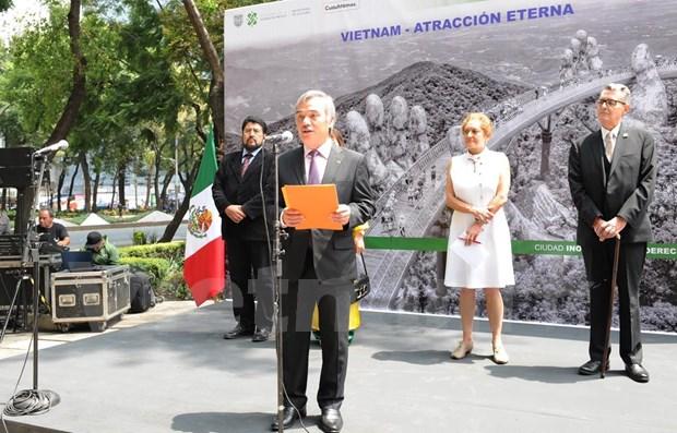 越南风土人情图片展在墨西哥举行 hinh anh 1