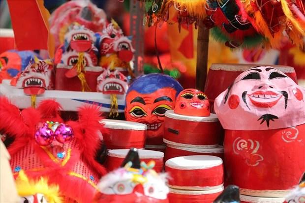 环境友好型传统中秋玩具赢回消费者的青睐 hinh anh 1
