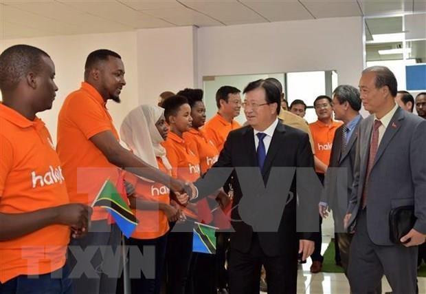 坦桑尼亚与越南关系取得诸多新突破 hinh anh 1