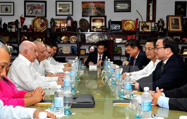 越南共产党代表团对古巴进行工作访问 hinh anh 1
